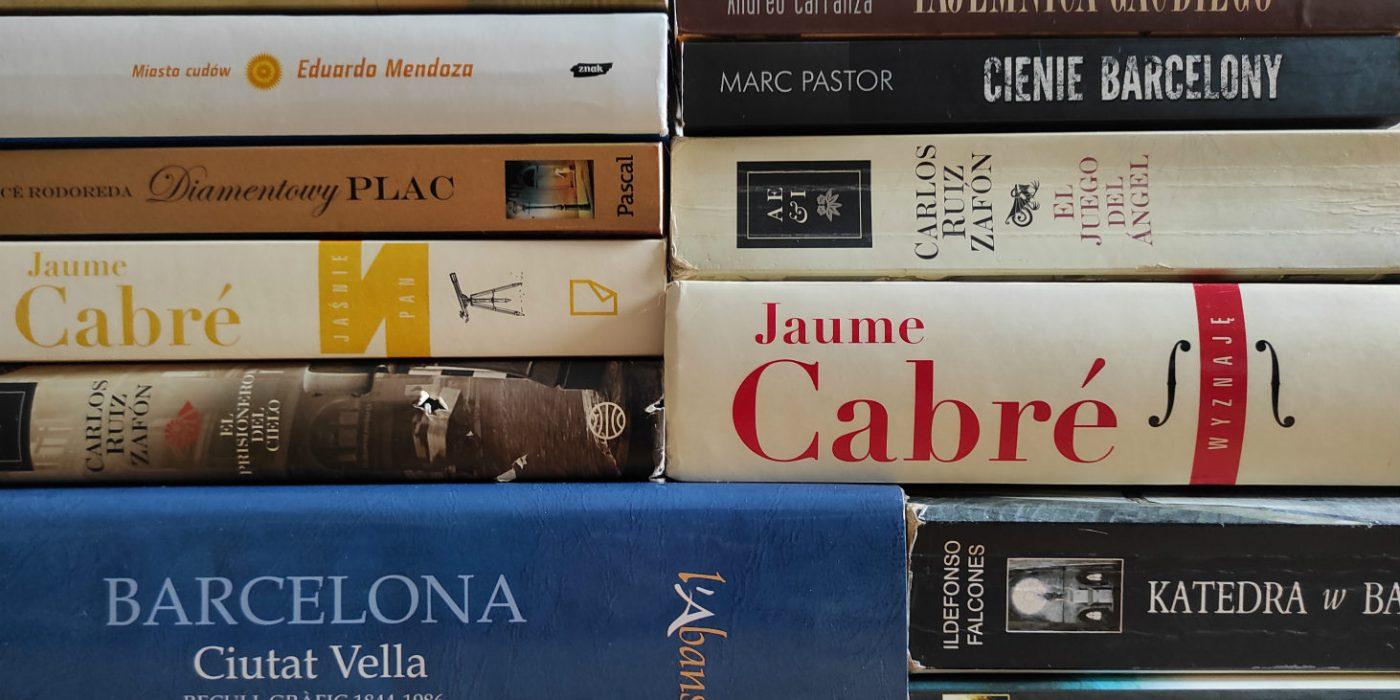 książki o Barcelonie